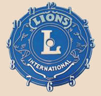 Lions Club International dial at Tom's Cypress